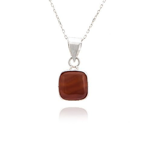 handcrafted-pure-gems-red-agate-necklace