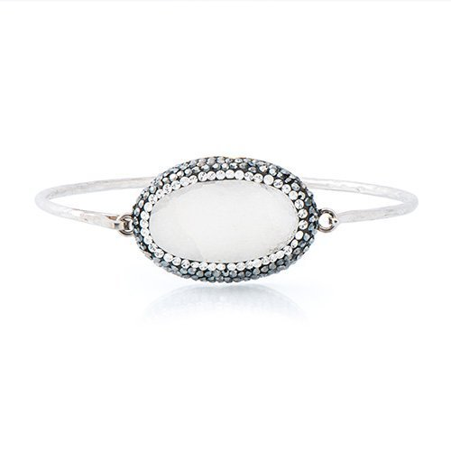 white-gemstones-bracelet