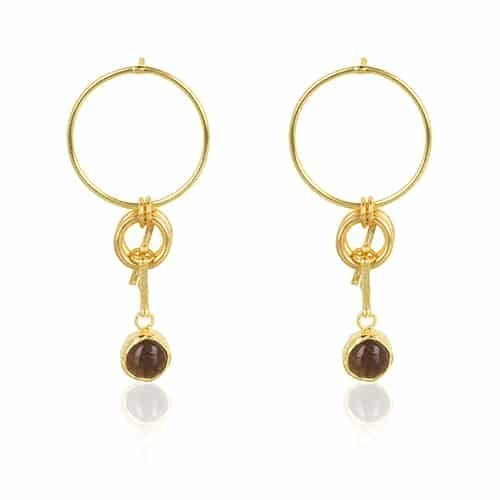 Fun earrings by Ana Dyla