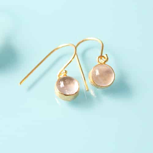 Ana Dyla rose small earrings