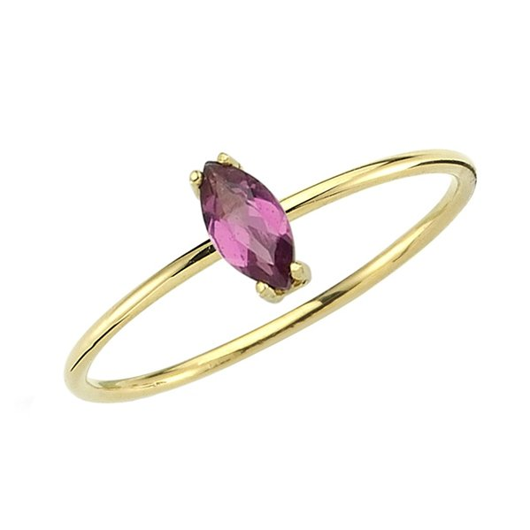 rhodolite ring 14ct gold